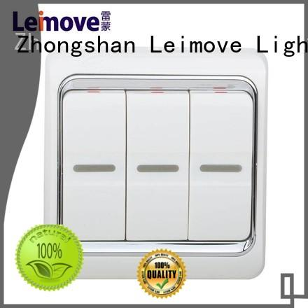 three position home switch popular for customization Leimove