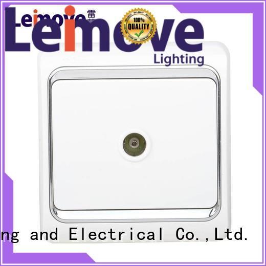 Leimove Brand wall power socket factory