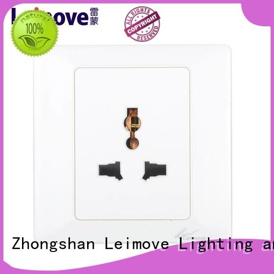 Leimove multi-functional electric plug sockets reasonable price for customization