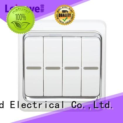 Quality Leimove Brand single light switch door wall