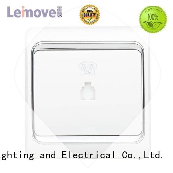 china electric socket Leimove company