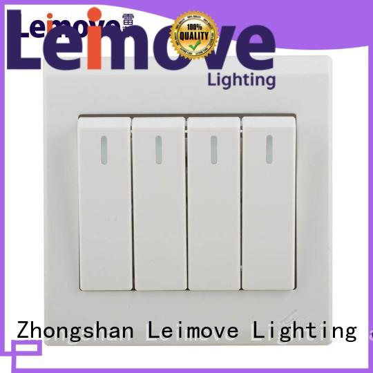 Leimove high quality white switches wholesale