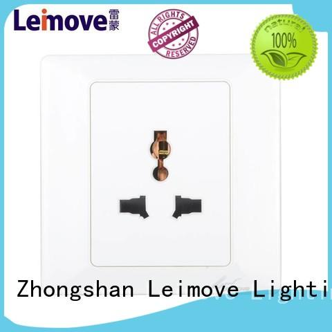 wall power socket multi waterproof extention Warranty Leimove