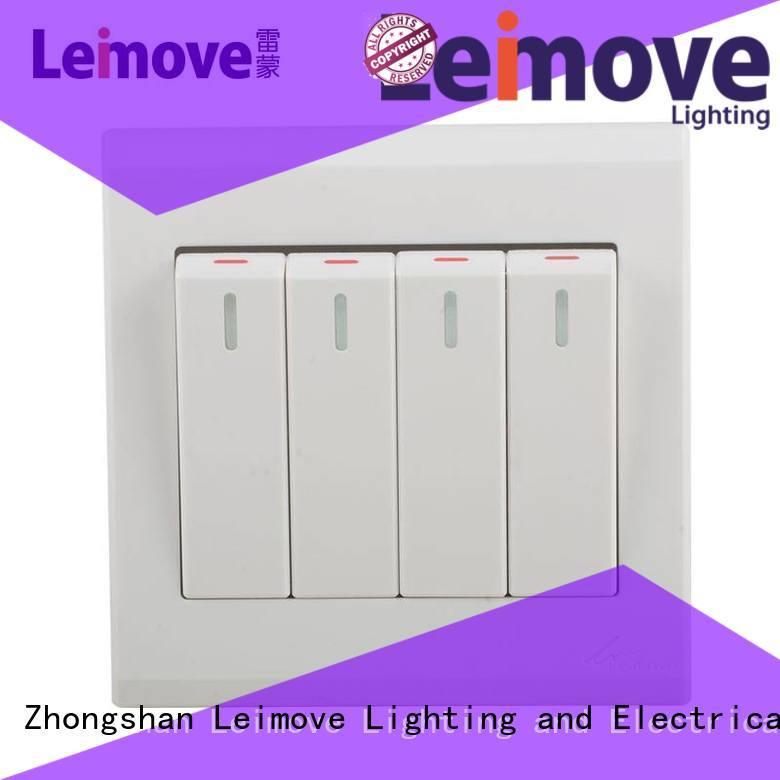 Leimove custom wall switch bulk production