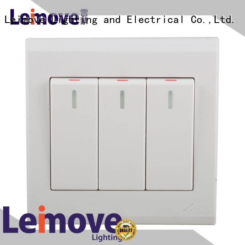 Leimove three position white switches by bulk for tv