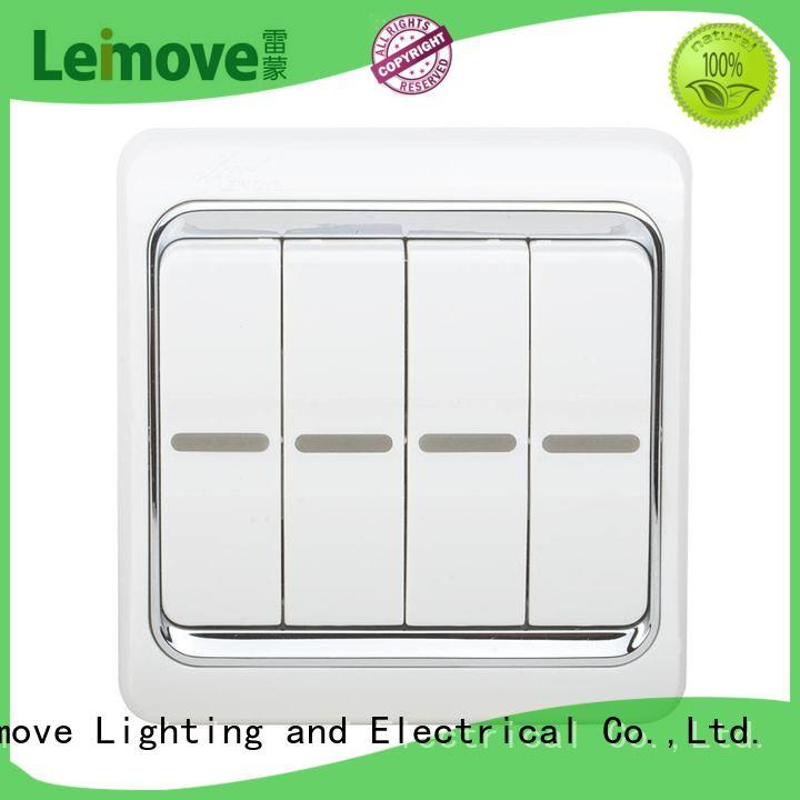 wall warrant switches and sockets switch Leimove