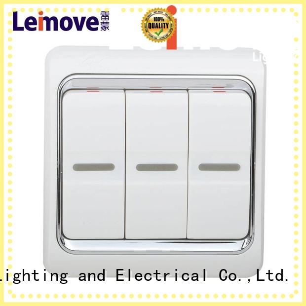 fine workmanship light switches and sockets three position popular for customization