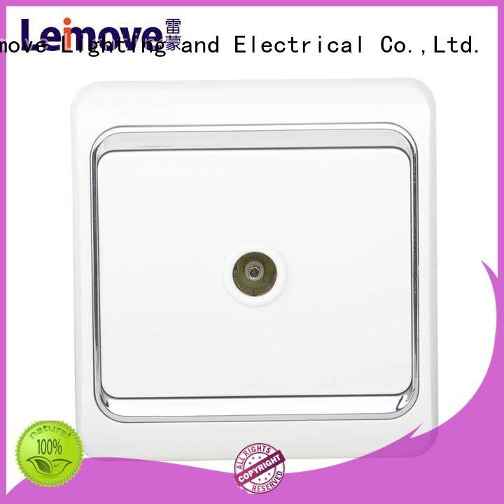 Leimove hot-sale white socket at discount for single