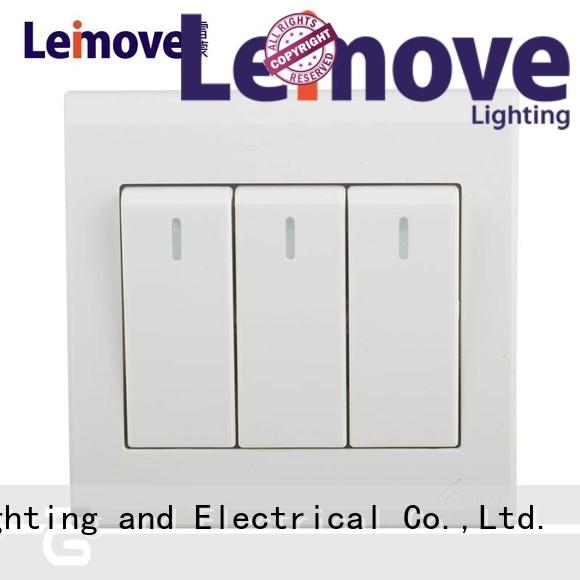 Leimove high quality modern light switches by bulk for sale