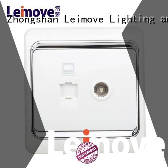Leimove custom white plug sockets at discount