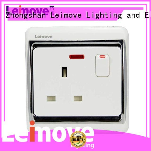 Leimove square foot wall power socket custom at discount