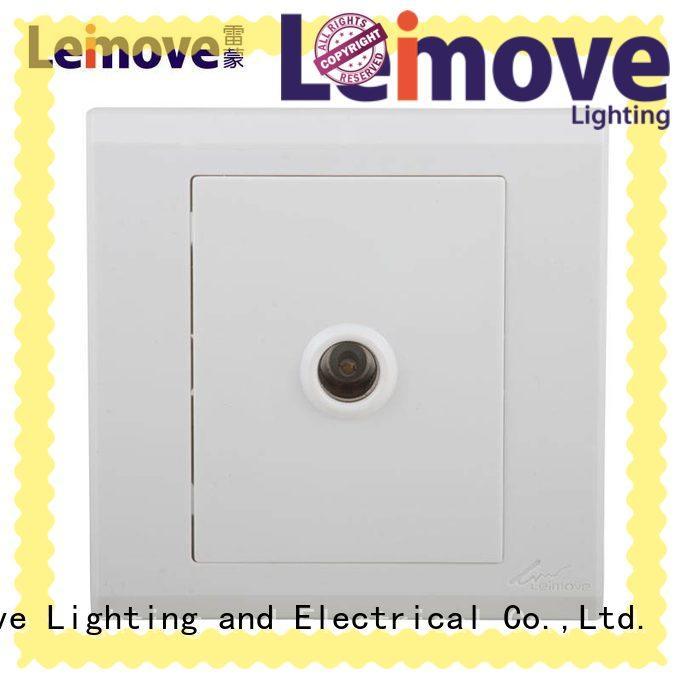 Leimove custom master socket steel wire for tv