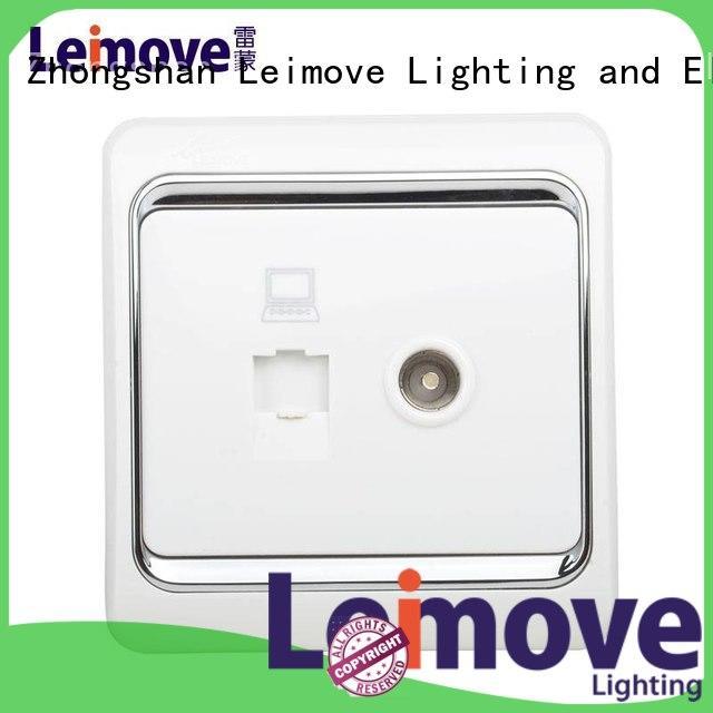 Hot china electric socket Leimove Brand