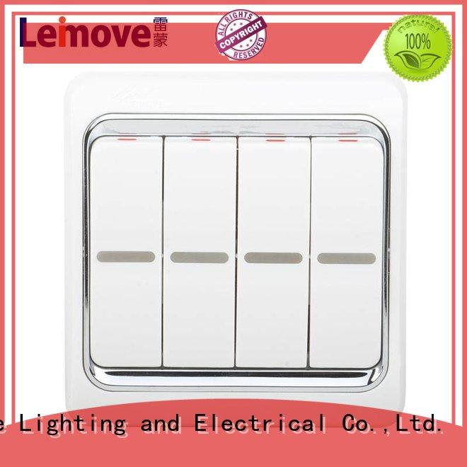 three position touch light switch four position for customization Leimove