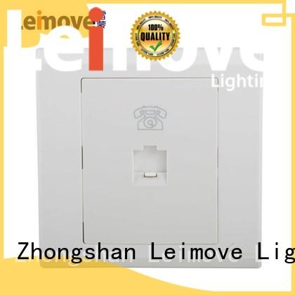 Leimove ultra-thin master socket wholesale for charging