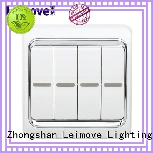 stilt plate electrical outlet switch single connection for sale Leimove