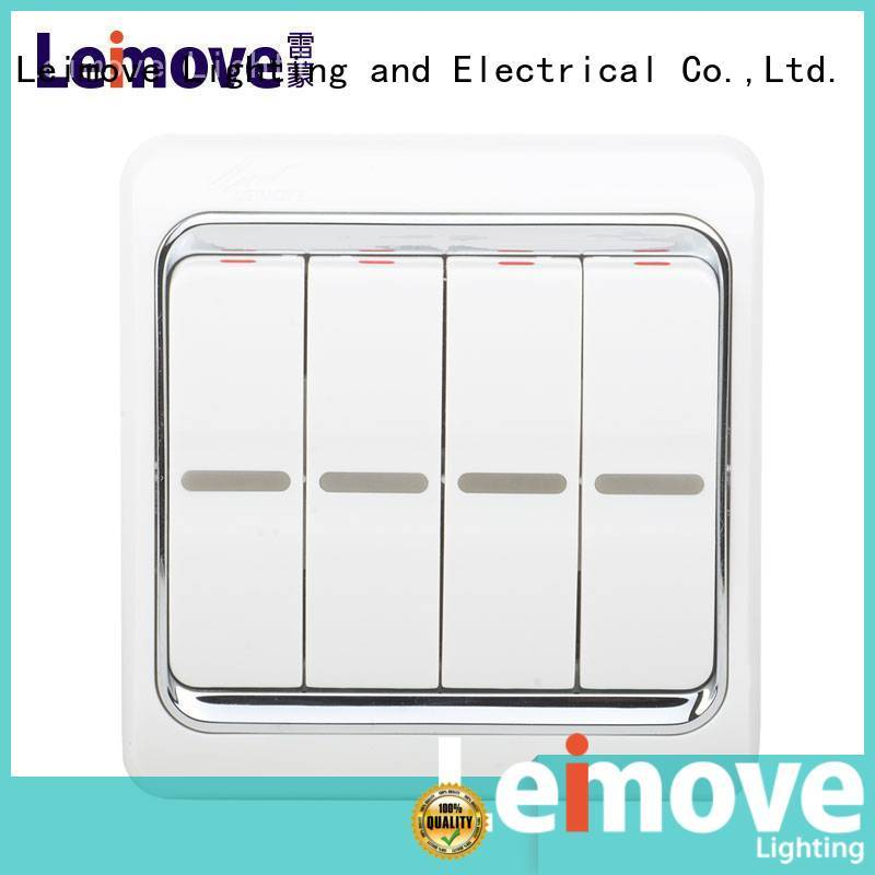 bell Custom electrician switches and sockets one Leimove