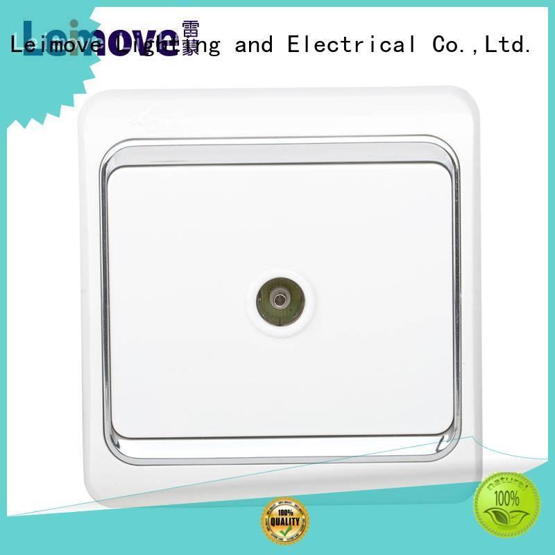 white plug sockets hot-sale for computer Leimove
