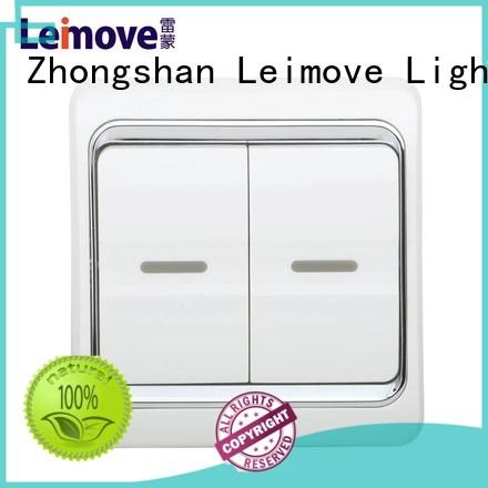 wall single light switch way Leimove company