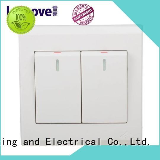 Leimove bipolar white switch bulk production
