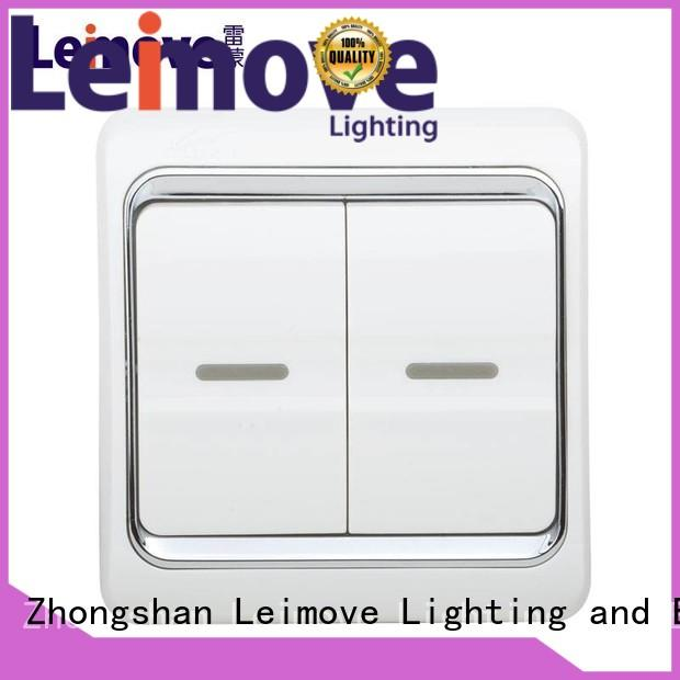 Hot switch switches and sockets bell sale Leimove Brand