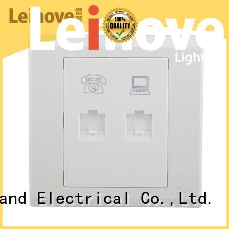 Leimove energy-saving telephone socket top quality for computer